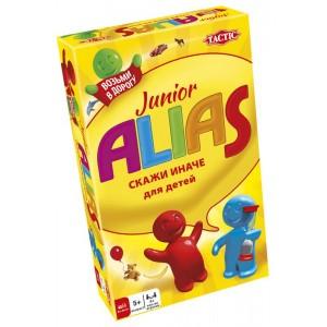 TACTIC Spēle ALIAS JUNIOR, ceļojumu versija, krievu val.