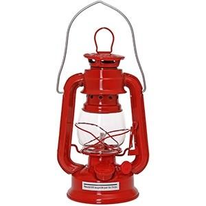 Eļļas lampa d9.5xh19cm sarkana