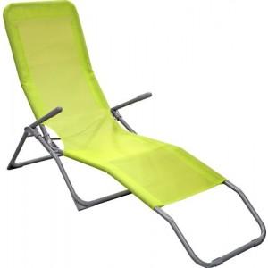 Guļamkrēsls 190x57x94cm zaļš