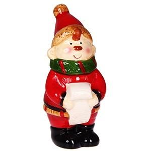 Dekors Ziemassvētku figūra Rūķis 9x6,5x15,6cm