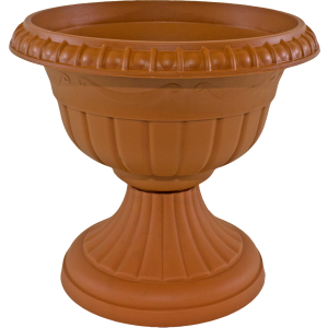 Puķu pods-vāze Roma 6 terakota