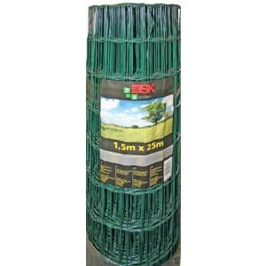 Žogs cinkots ar PVC 1.5x25m (75x100)