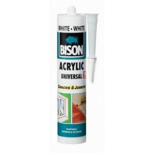 Hermētiķis BISON ACRYLIC UNIV. balts (300ml)