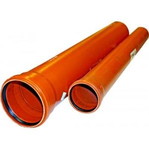 Caurule PVC 110X1000 SN4