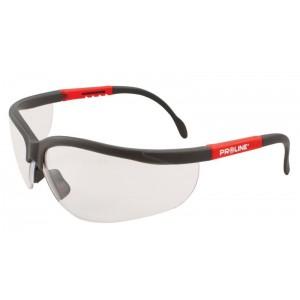 Aizsargbrilles ar regulej. kājiņām CE PC Proline