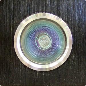 Ieb. lampa halogēna 12V OH20 melns