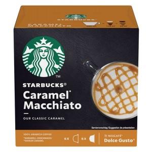STARBUCKS Dolce Gusto kafija Caramel Macchiato 127.8g