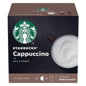 STARBUCKS Dolce Gusto kafija Cappuccino 120g