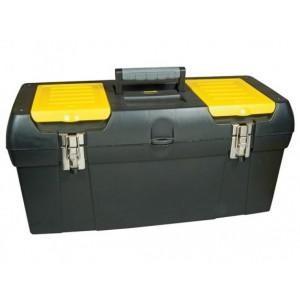 Instrumentu kaste ar metāla stiprinājumiem 24