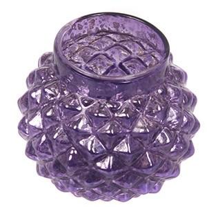 Svečturis tējassvecei 8x6.5cm stikla