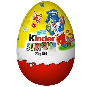 KINDER SURPRISE šokolādes ola, 20g (Lieldienas)
