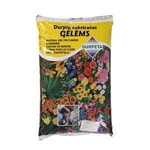 Augsne istabas puķēm 10l (200)