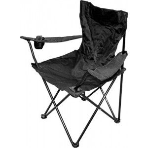 Krēsls kempinga 50x50x80cm sarkans