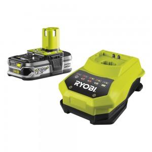 RYOBI Akumulators un lādētājs RBC18L15