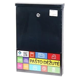 Pastkaste PD955 antracīta