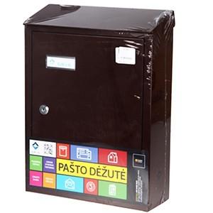Pastkaste brūna PD900