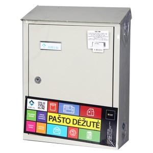 Pastkaste pelēka PD900