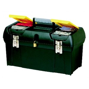 Instrumentu kaste ar metāla stiprinājumiem 19