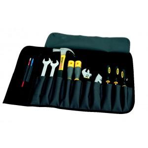 Instrumentu somiņa ar 12 kabatām