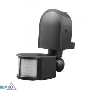 Sensors kustības 180 IP44/1300W melns