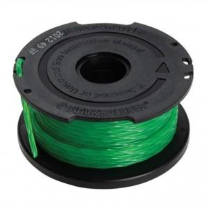 Trimmera aukla ar spoli 6m / 2,0mm. GL7033, GL8033, GL9035, STB3620L, Black & Decker