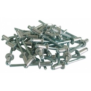 Kniedes alumīnija 4x10mm 50gab