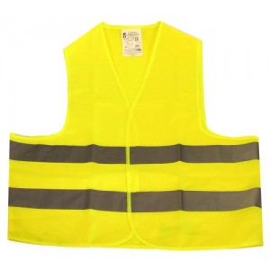 Signālveste dzeltena ar liel.izgriez. 2XL
