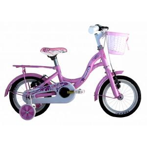 "COPPI pilsētas velosipēds TAYLOR 12""(rozā)"