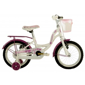 "COPPI pilsētas velosipēds TAYLOR 14""(balts)"