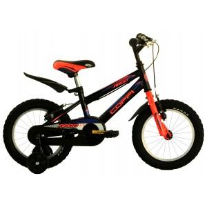 "COPPI pilsētas velosipēds ARGO 14""(melns)"