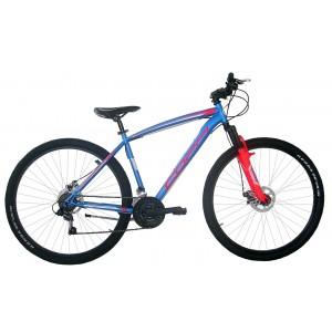 "COPPI MTB kalnu velosipēds REACTION 29""(zils,sarkans)"