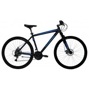 """COPPI MTB kalnu velosipēds  27""""(melns,zils)"""
