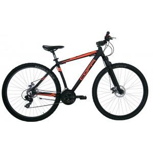 """COPPI MTB kalnu velosipēds  29""""(melns,oranžs)"""
