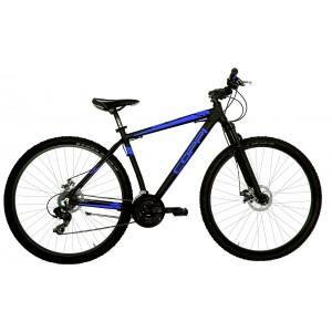 """COPPI MTB kalnu velosipēds  29""""(melns,zils)"""