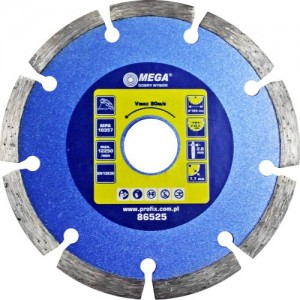 Dimanta disks BSG 125x22mm betonam Mega