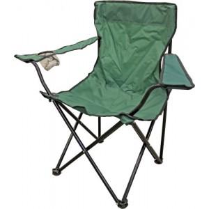 Krēsls kempinga 50x50x80cm zaļš
