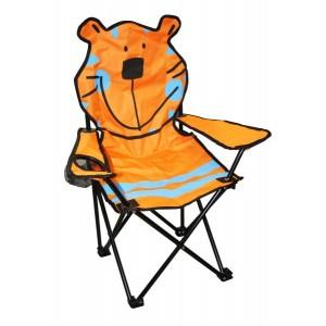 Kempinga krēsls bērniem lācis
