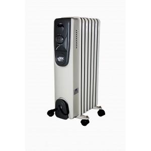 Eļļas radiators 7 sekcijas 1500W