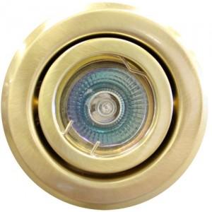 Ieb. lampa halogēna 12V OH19 matēts zelta