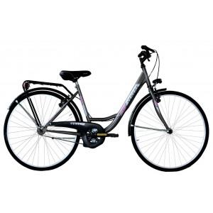 """Venere pilsētas velosipēds 26"""" (pelēks)"""
