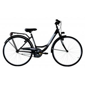 "Venere pilsētas velosipēds 26"" (melns)"