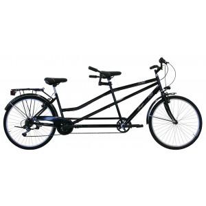 """Tandēmu velosipēds 29"""" (melns)"""