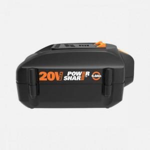Akumulators Li-ion 20V / 6,0Ah. WA3641, Worx
