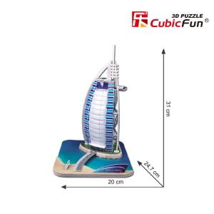 CubicFun 3D puzle Burjal-Arab