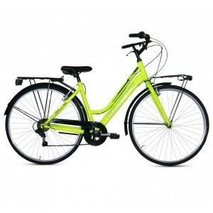 "Dumount pilsētas velosipēds 28"" (zaļš)"