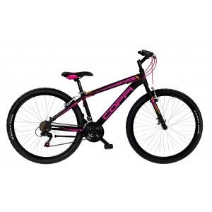 """COPPI MTB kalnu velosipēds BRAVE 27""""(melns,sarkans)"""