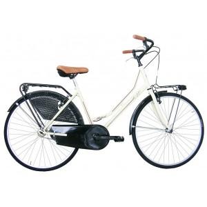 """COPPI klasiskais pilsētas velosipēds LIBERTY 26""""(Bēša,brūna)"""