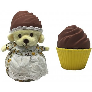 CupCake Bears Mini aromātisko keksiņu pārsteiguma lācītis