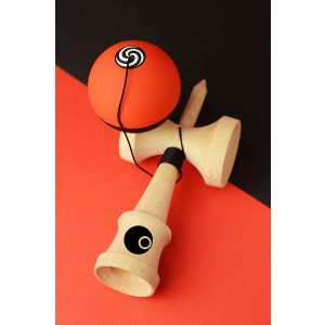 OKendama Candy - Red Apple - ZERO1 shape, Beech wood / RUSH paint