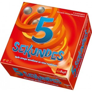 Trefl Spēle 5 sekundes